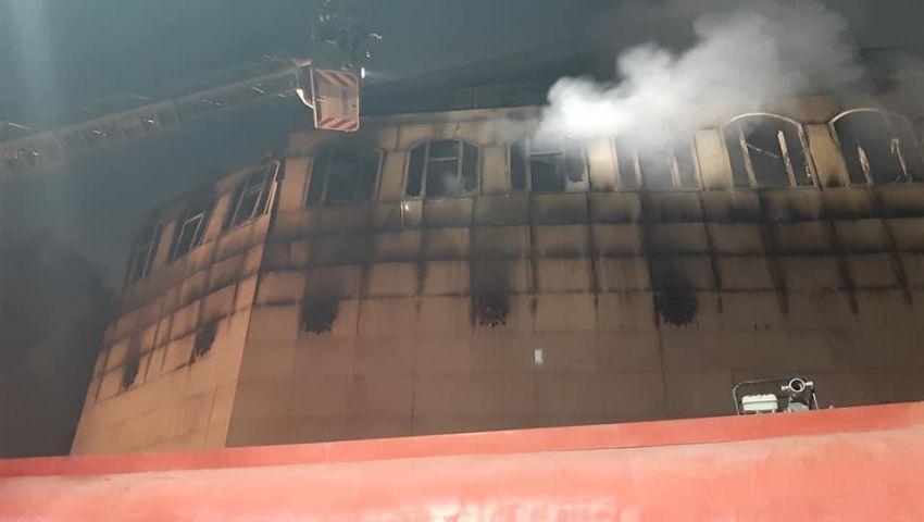 صور وفيديو  تفاصيل حريق كنيسة «الأنبا بولا» بحدائق القبة في القاهرة