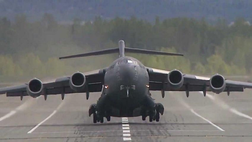 طائرة عسكرية أمريكية تهبط اضطراريًّا في إندونيسيا