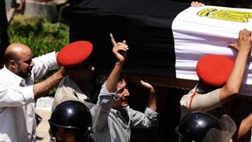 نقل جثامين ضحايا حادث رفح  للقاهرة