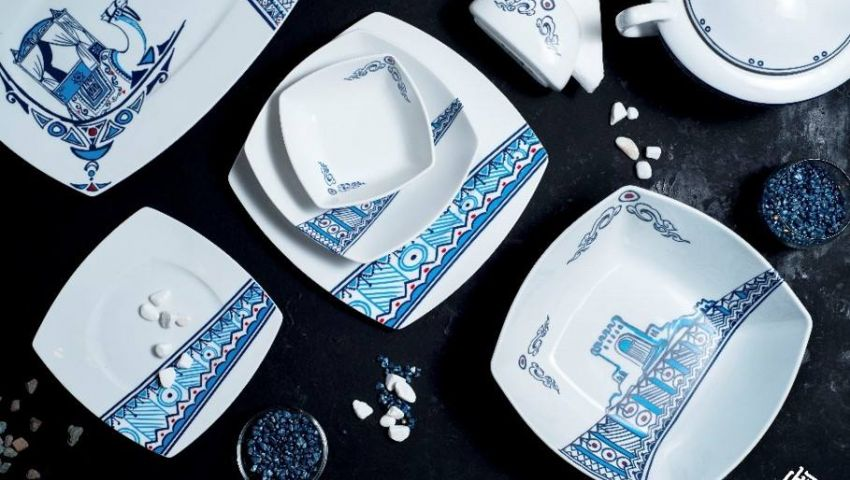صور: على مائدة الطعام.. أواني «رضوى» تروي قصص «ألف ليلة وليلة»