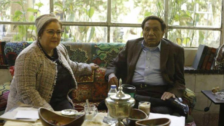 خلافات بين عادل إمام ودلال عبدالعزيز في فالنتينو