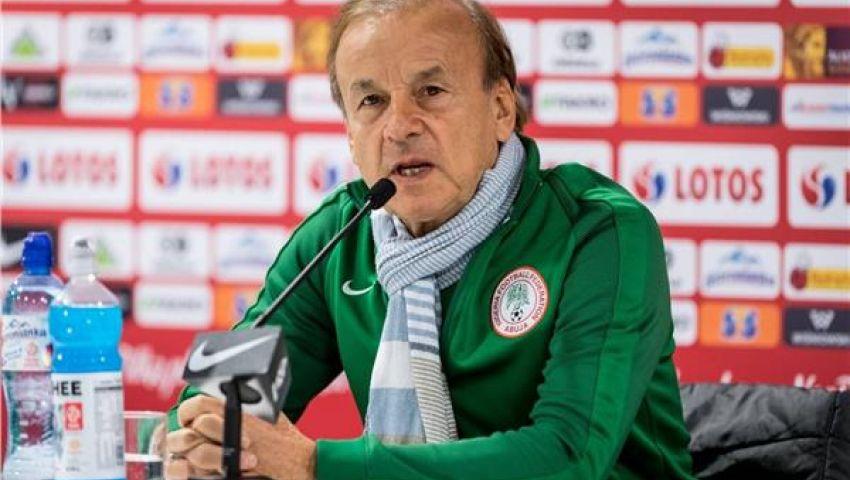 مدرب نيجيريا: الفوز بالمركز الثالث أفضل من الهزيمة في النهائي