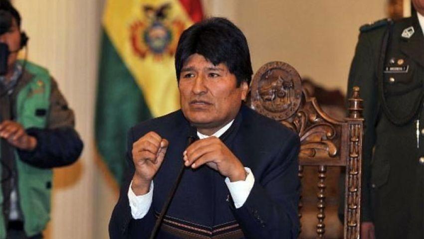 موراليس يصل إلى بوليفيا بعد توقف اضطراري في أوروبا