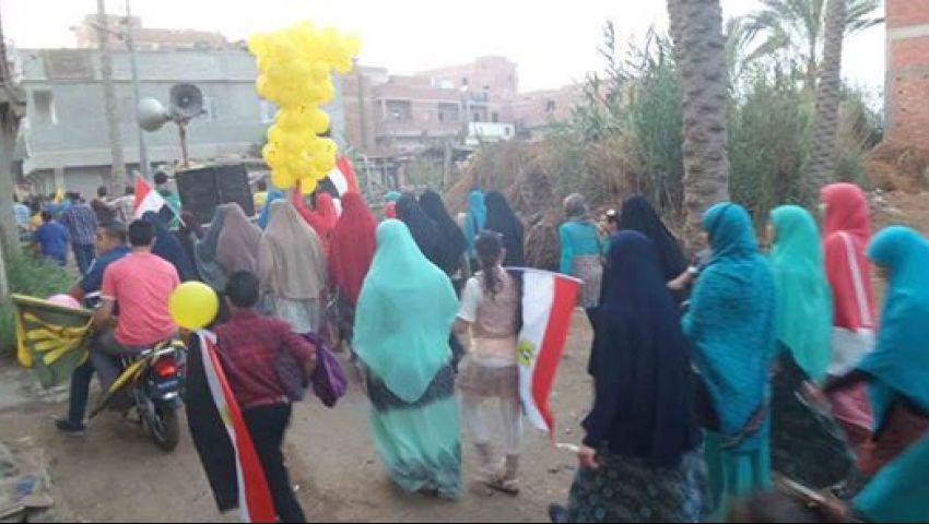 مسيرة لمعارضى النظام بدمياط تطالب بإطلاق سراح المعتقلين