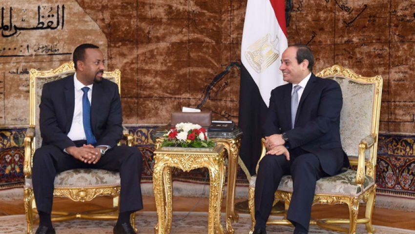 السيسي يؤكد تمسكه بالثوابت المصرية بشأن سد النهضة