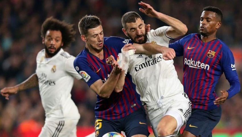 التشكيل الرسمي لمباراة ريال مدريد وبرشلونة