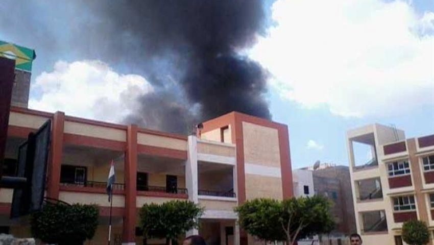 السجن 7 سنوات لطالبين أحرقا غرفة بإحدى مدارس 6 أكتوبر