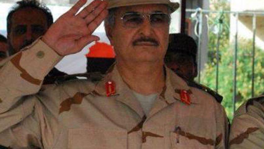 حفتر يهاجم الجيش المصري والتونسي في فيديو قديم