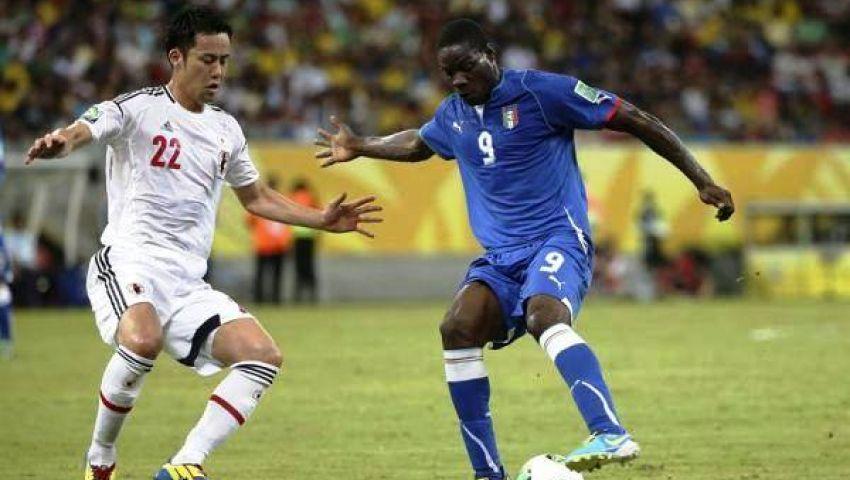 بالوتيلي يغيب عن إيطاليا في مواجهة أسبانيا بـالقارات