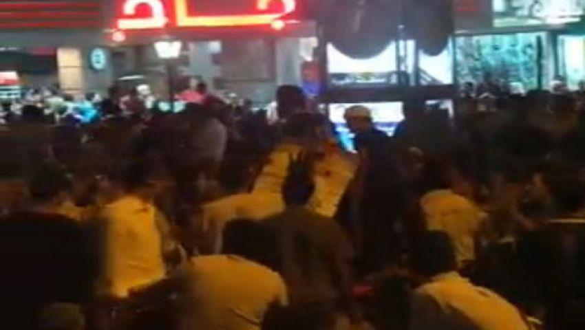 بالفيديو.. مظاهرات الإخوان تصيب جامعة الدول بالشلل