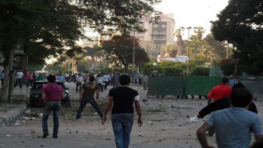 قنابل الغاز تفصل اشتباكات أنصار مرسي ومعارضيه بطنطا
