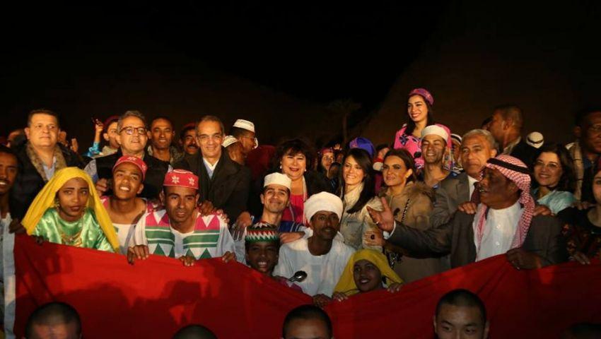 صور| على أنغام «أفريقيا شعوبها واحدة».. ختام مهرجان أسوان الدولي