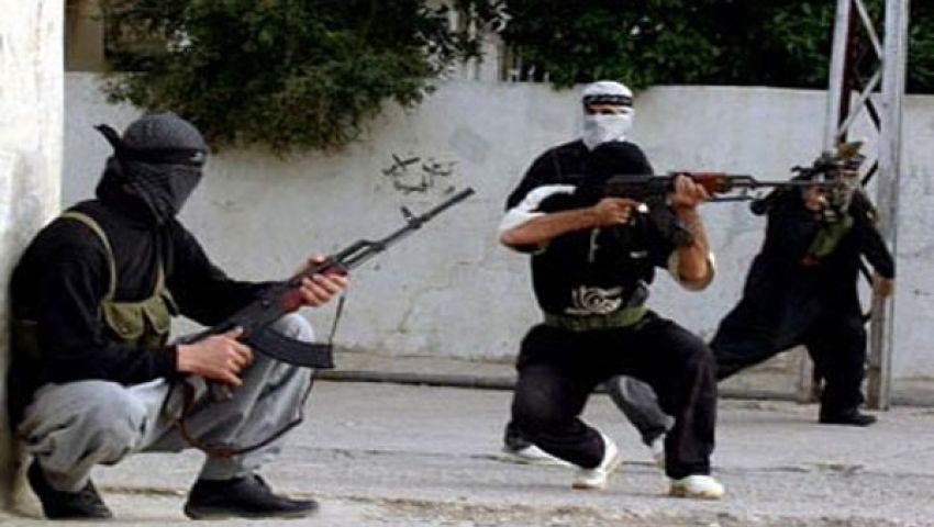 إصابة 3 شرطيين فى الهجوم على قسم الشيخ زويد