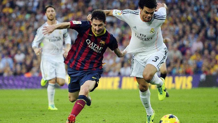 ميسي يتعادل لبرشلونة وطرد راموس