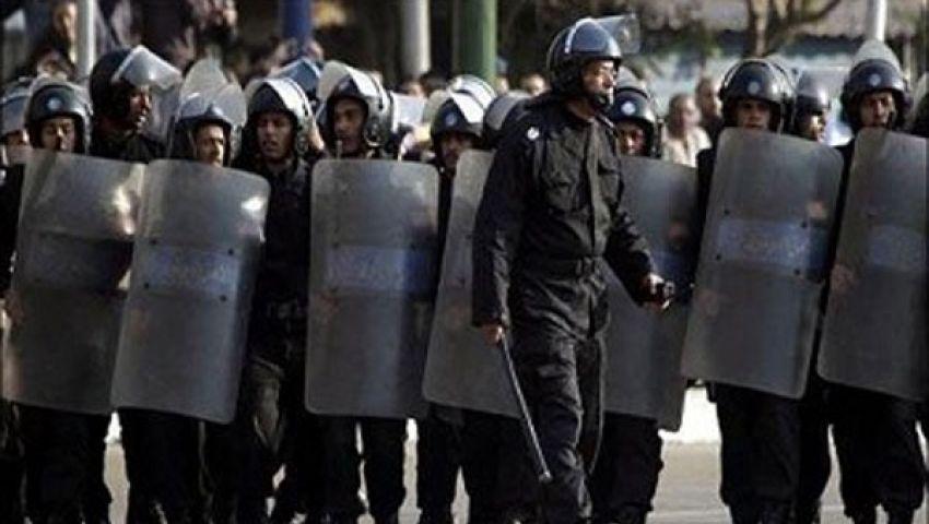 قوات الأمن تمشط شوارع أسيوط