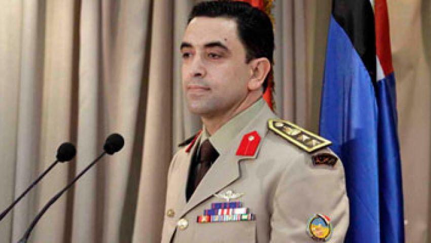 المتحدث العسكري : الجيش لم يطلق النار على مؤيدي مرسي