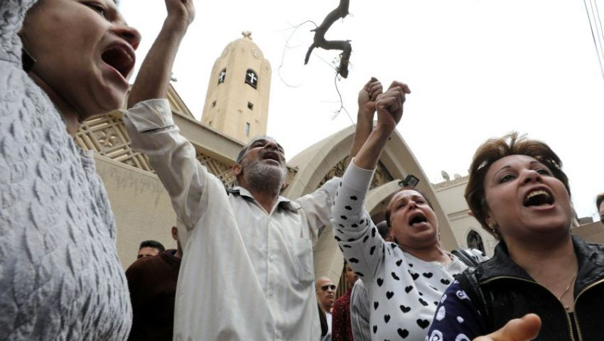 أقباط بعد تكرار استهدافهم: أصبحنا فريسة لداعش ولا نشعر باﻷمان
