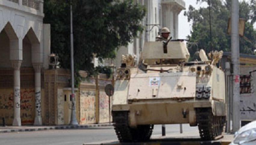 الأمن يغلق شارع يوسف عباس ويحاصر مدينة طالبات الأزهر