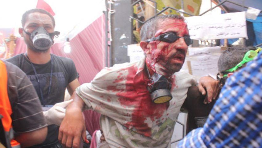 فيديو يظهر التقاط شرطيين صور تذكارية بعد فض الاعتصام