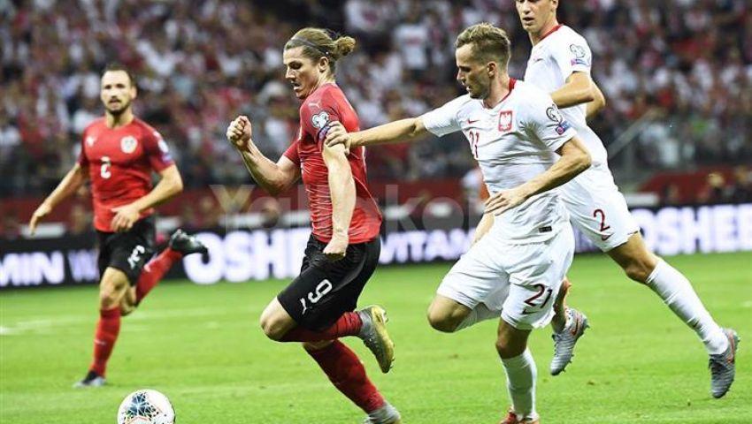 فيديو| تصفيات يورو 2020..  بولندا تتعادل سلبيًا مع النمسا