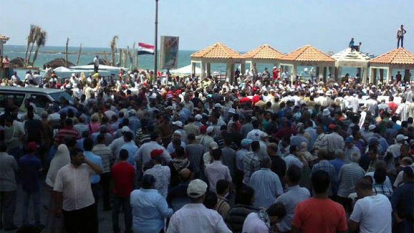 مسيرات لأنصار مرسي بضواحي الإسكندرية
