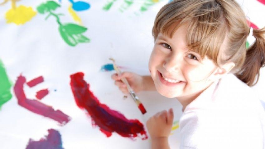 دراسة: الفن يزيل المشاكل الفنية للأطفال