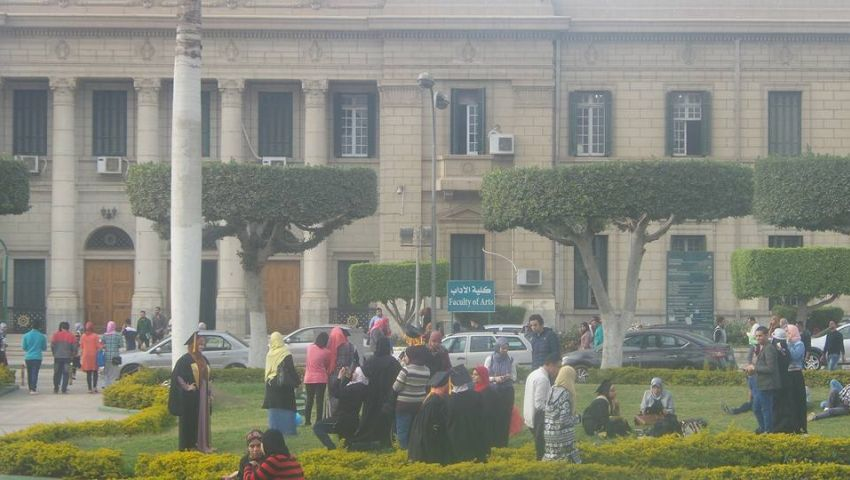 (صور)| على أنغام الدي جى.. جامعة القاهرة تحتفل بخريجي «حقوق 2016»