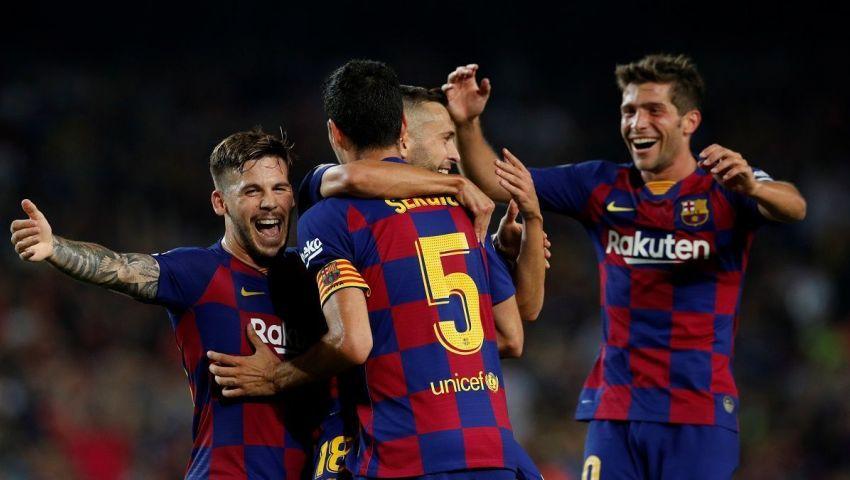 إنفوجراف| مباريات برشلونة في الفترة المقبلة