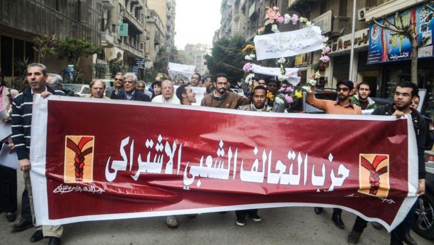 أحزاب: الشرطة لا تفرق بين حملة الورود وحملة القنابل
