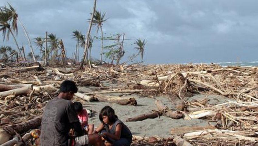 فيديو.. إعصار هايان يدمر مليون منزل في الفلبين
