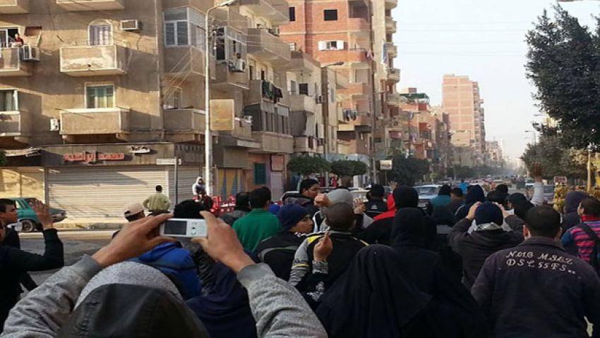 مظاهرات الفراشة بالإسماعيلية ردًا على فض مسيرات اليوم