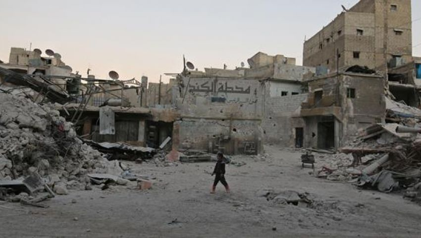 المرصد السوري: قصف محطة للمياه في حلب