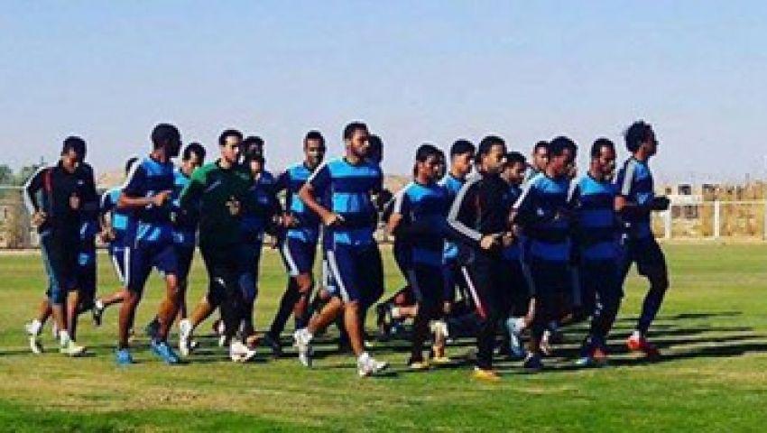 التعدين يتسلح بـ 18 لاعبًا لمواجهة المصري