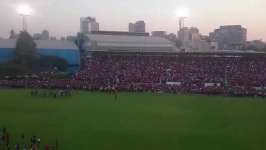 الاهلي يفاوض الأمن لحضور الجماهير لقاء يانج أفريكانز