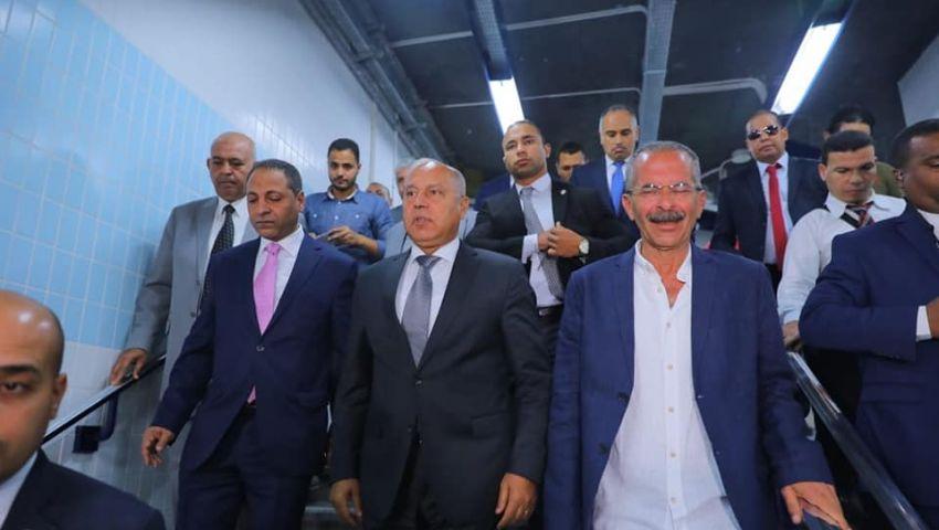 المترو يخسر أكتر من 50% يوميا.. ووزير النقل:«مش خسارة في الشعب»
