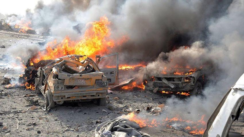 سوريا.. 12 قتيلًا وجريحًا إثر انفجار دراجة نارية مفخخة في سوق شعبية