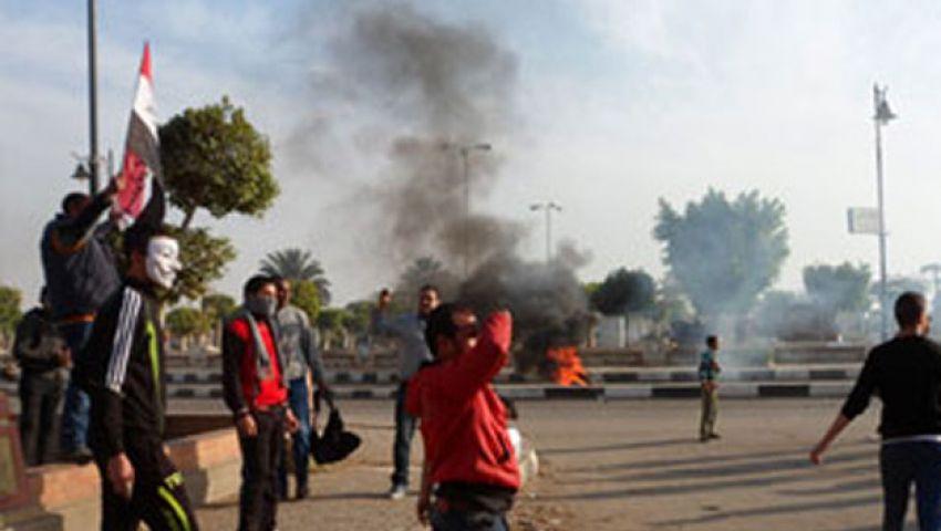 فيديو.مقتل طفل إثر فض مسيرة رافضي الانقلاب بالسويس