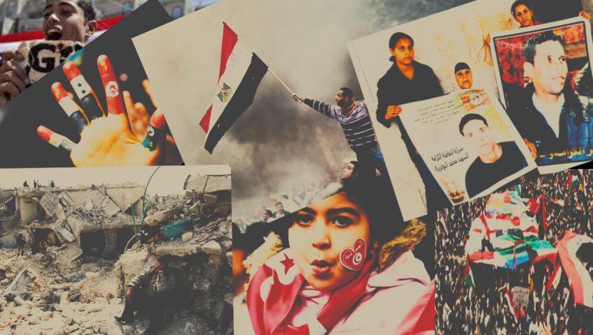 ثورات الربيع العربي.. 10 سنوات ما بين الأمل والخيبة (ملف)
