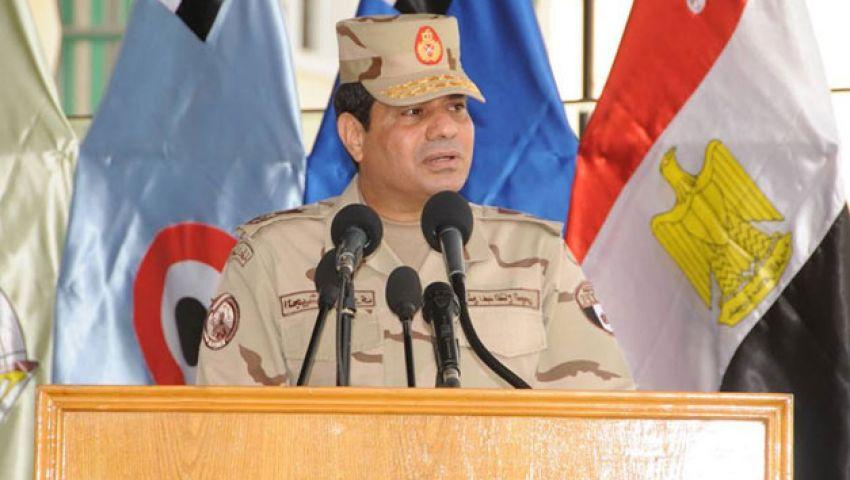 السيسي: ماضون في بناء دولة ديمقراطية ترضي المصريين