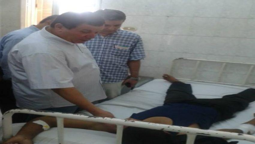 إصابة 14 مجندًا في انقلاب سيارة ترحيلات بدمياط