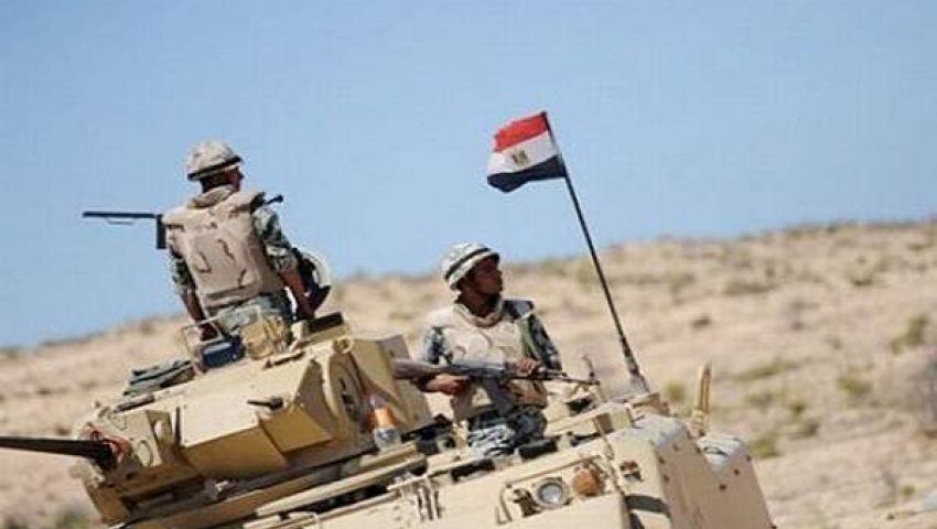اصابة 6 مجندين ومدني في هجوم بقذائف صاروخية برفح