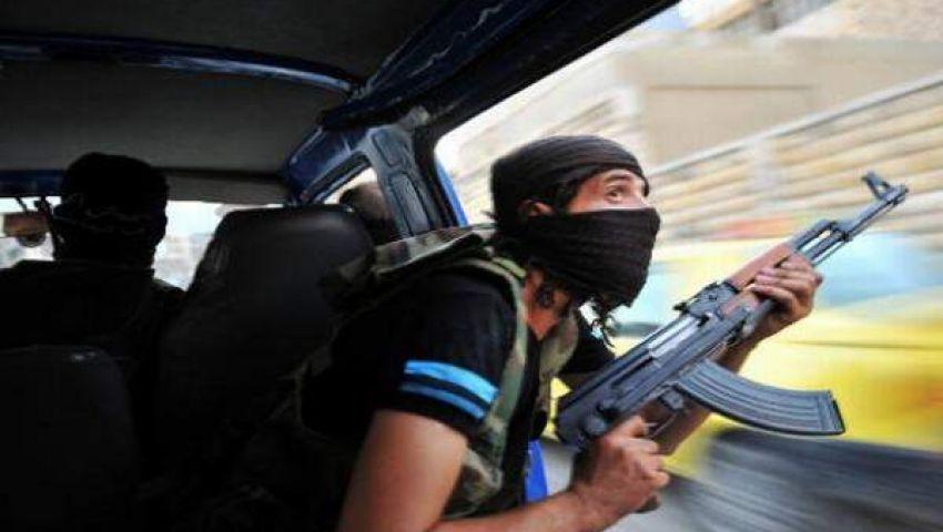 إصابة مواطنين فى هجوم مسلح على مبنى الإذاعة بالعريش