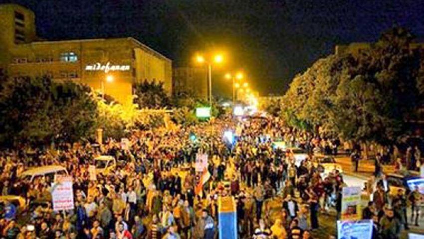التحالف الوطني لدعم الشرعية ينظم 14 مسيرة بالإسكندرية