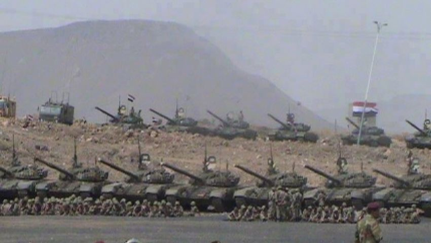 التحالف العربي يشن غارات على معسكر العند جنوب اليمن