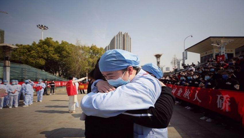بالصور  ووهان تحتفل.. الصين تخفف إجراءاتها بعد احتواء كورونا