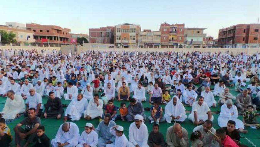 تخصيص 34 ساحة لصلاة عيد الأضحى بمدن ومناطق شمال سيناء
