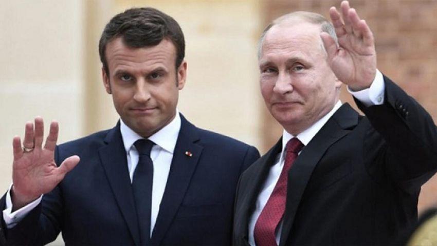 الفرنسية: بوتين وماكرون.. اتفاق على التصالح واختلاف حول سوريا