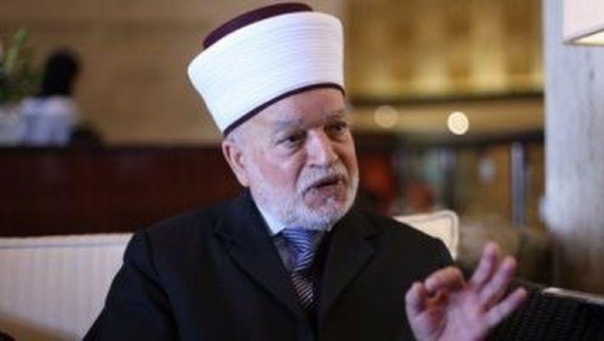 مفتي فلسطين يناشد علماء الأمة زيارة المسجد الأقصى لوقف انتهاكات الاحتلال (حوار)