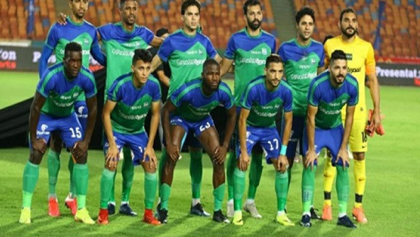 بالفيديو.. المقاصة يستعد للأهلي بثلاثية في شباك نادي مصر