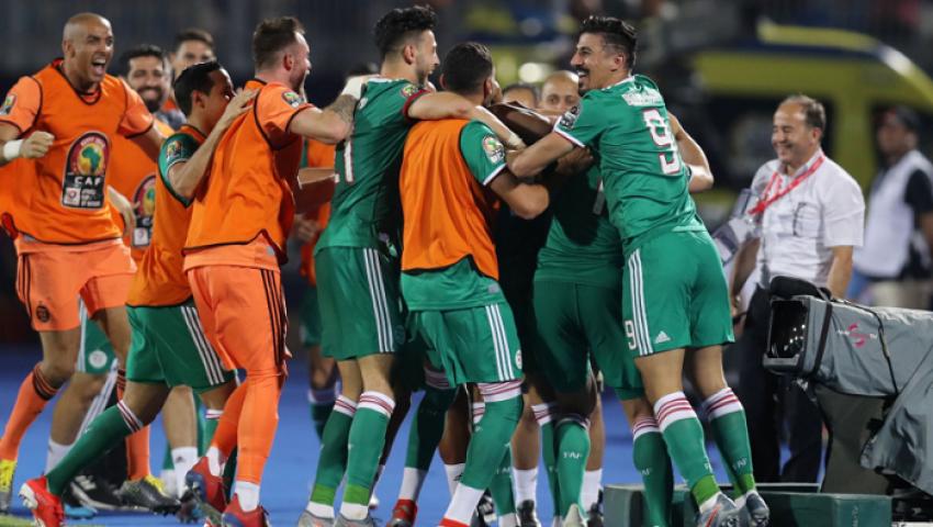فيديو| بهدف وثلاث نقاط الجزائر يتأهل لدور الـ 16 بأمم أفريقيا على حساب السنغال